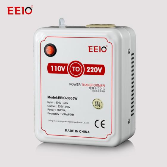 3000W Power Supply Transformer/Converter 110V to 220V for